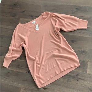 NWT Beautiful NY&Co Pink Sweater - XL